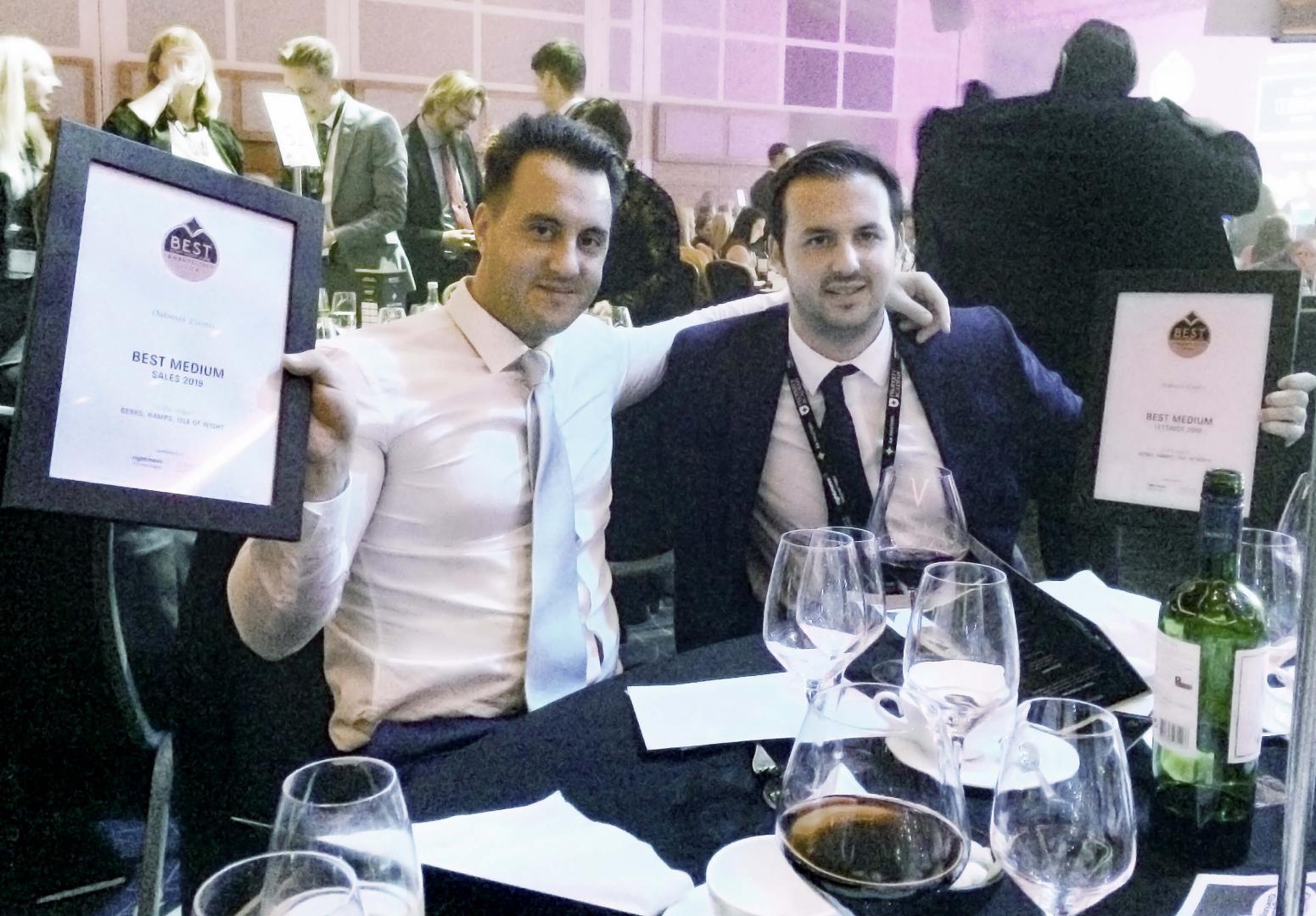 Oakwood Estates win awards at EA Masters