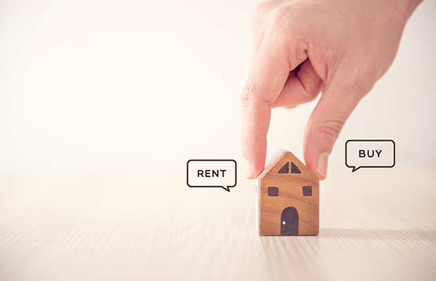 Surge in sellers renting ahead of their next move