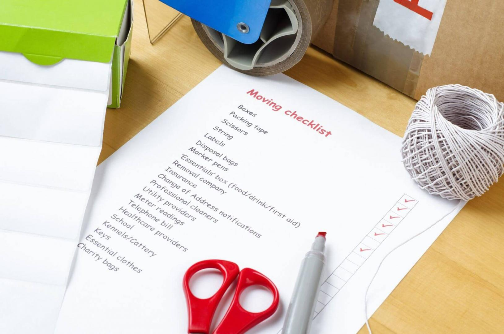 Plan and Prepare: Your Moving Home Checklist
