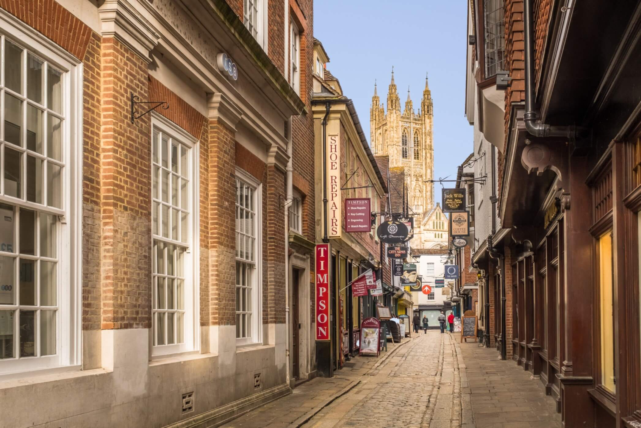 Area Guide for Canterbury City Centre