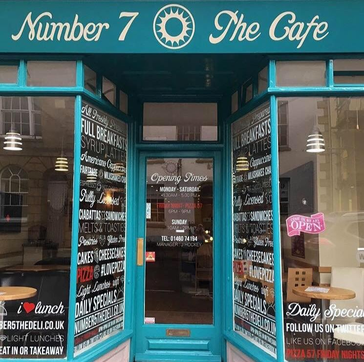 Number 7 The Cafe in Crewkerne (1)