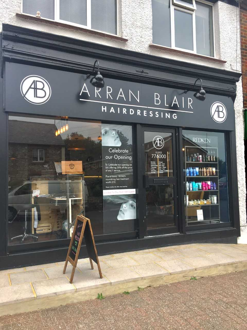 Arran Blair in East Preston