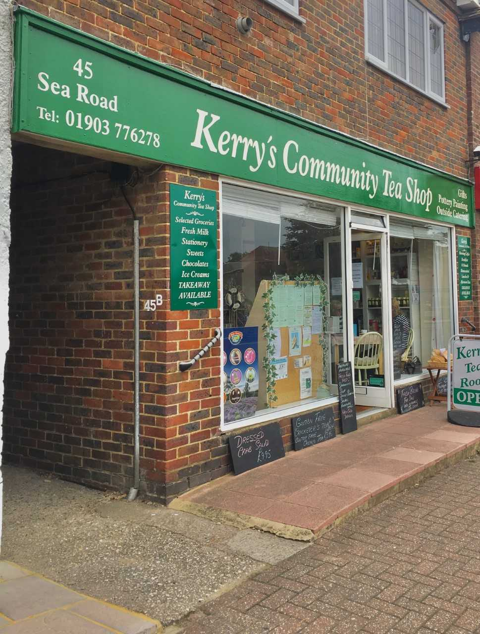 Kerry's Community Tea Shop in East Preston
