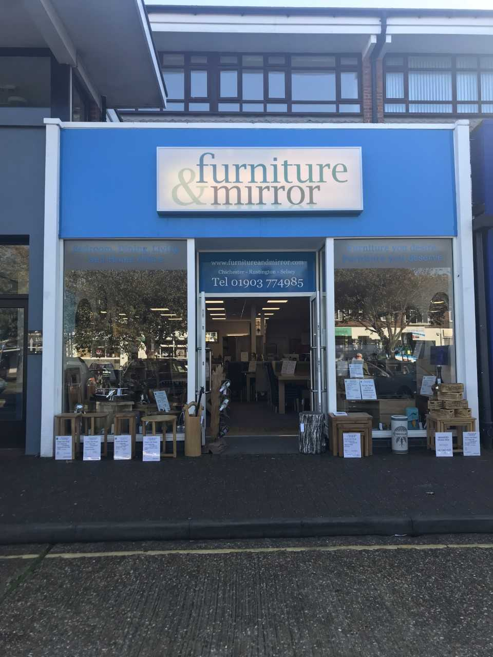 Furniture & Mirror in Rustington (1)