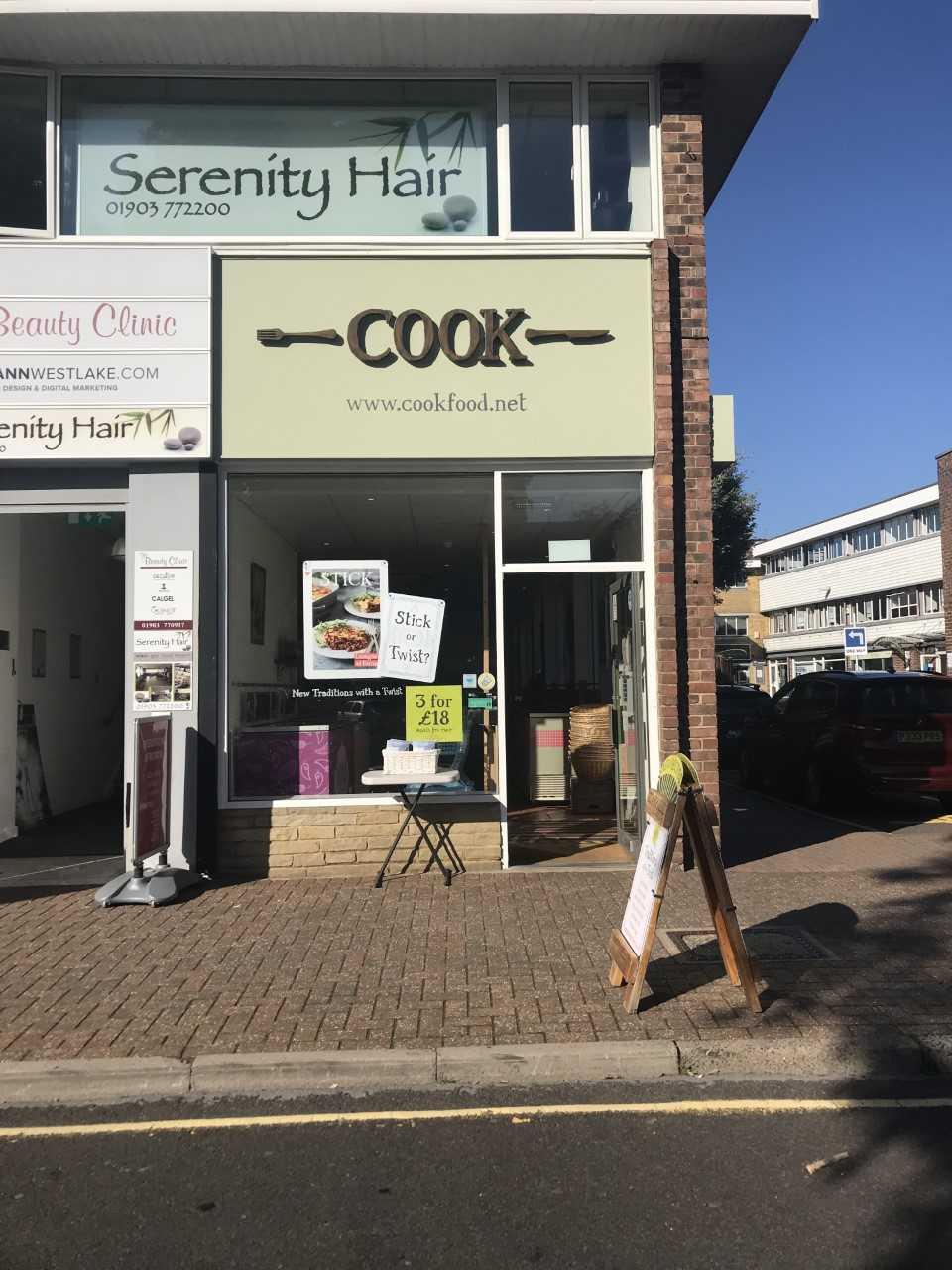 Cook in Rustington