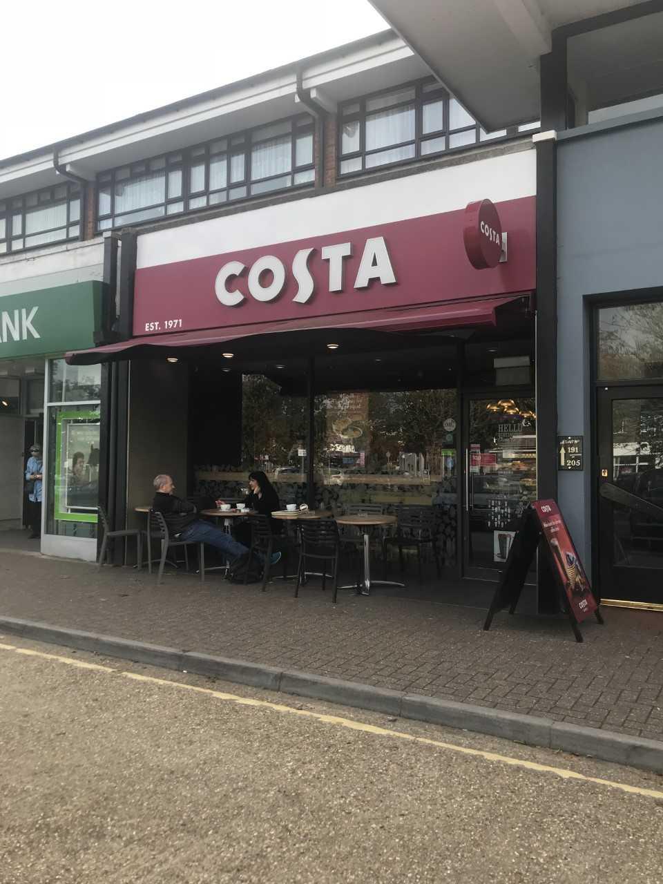 Costa Coffee in Rustington