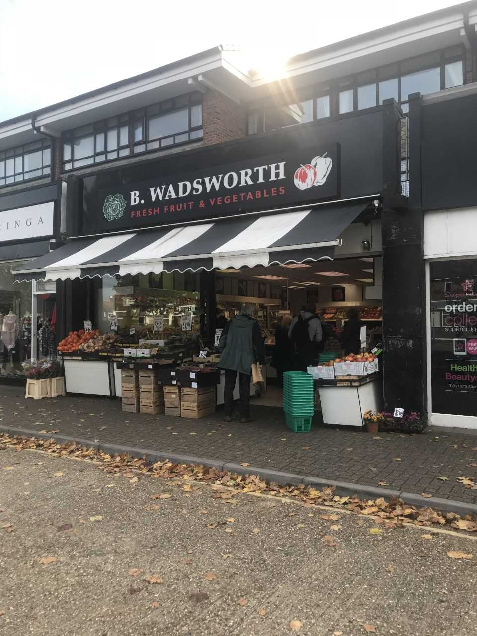 B. Wadsworth in Rustington