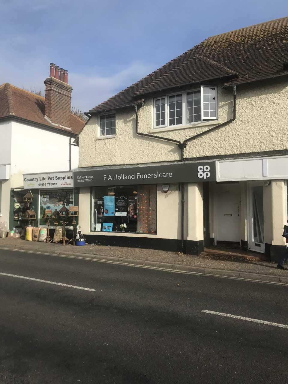 F A Holland Funeral Care in Rustington (1)