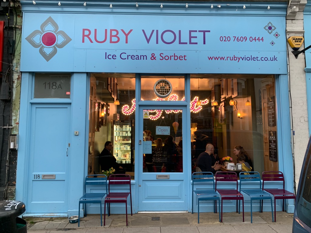 Ruby Violet in Tufnell Park