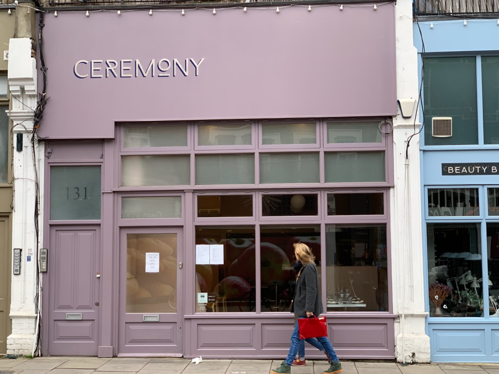 Ceremony in Tufnell Park
