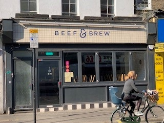 Beef and Brew in Kentish Town