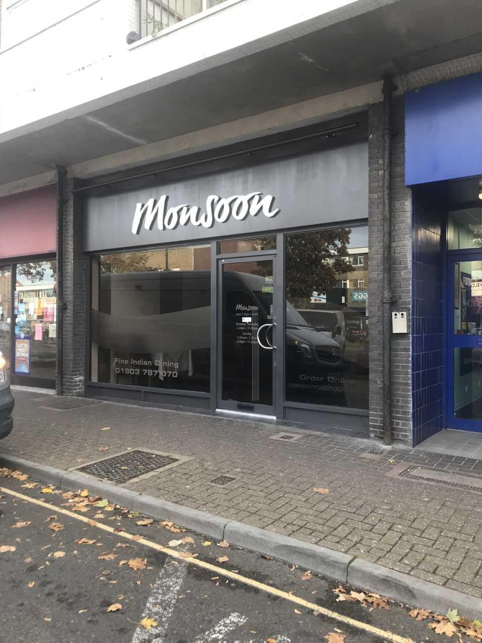 Monsoon Indian Restaurant in Rustington