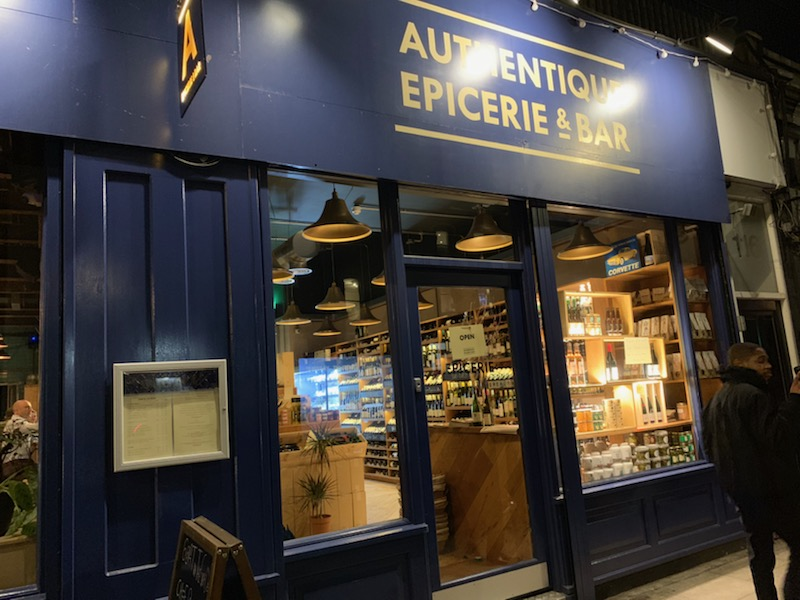 Authentique Epicerie & Bar in Tufnell Park