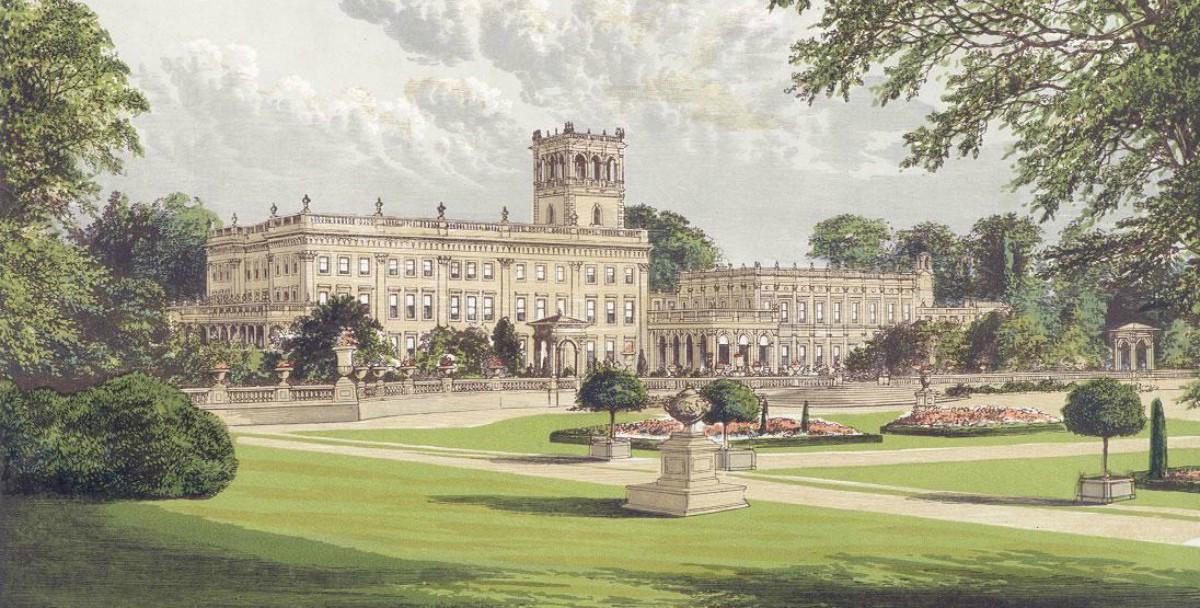 Trentham Gardens in Trentham